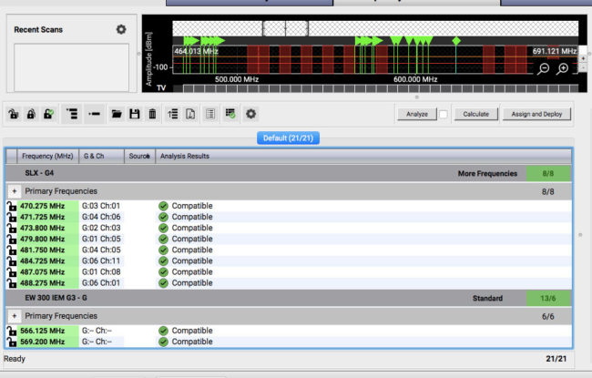 Coordinating Wireless Frequencies for Live Sound   Sweetwater