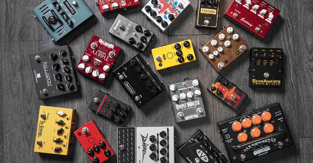 6 'Stack-in-a-Box' Pedals You Need to Check Out | Sweetwater