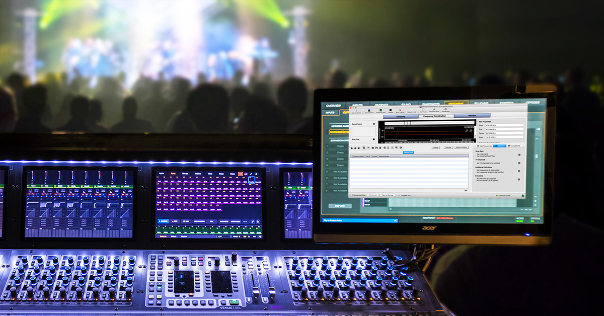 Coordinating Wireless Frequencies for Live Sound | Sweetwater