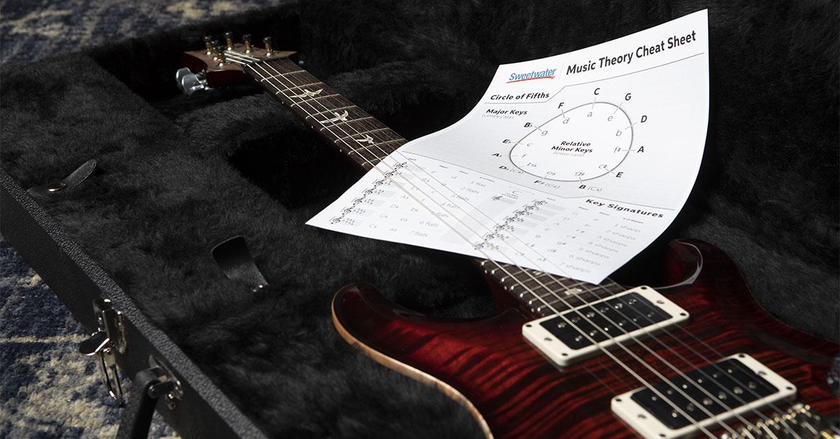 Music Theory Cheat Sheet | Sweetwater