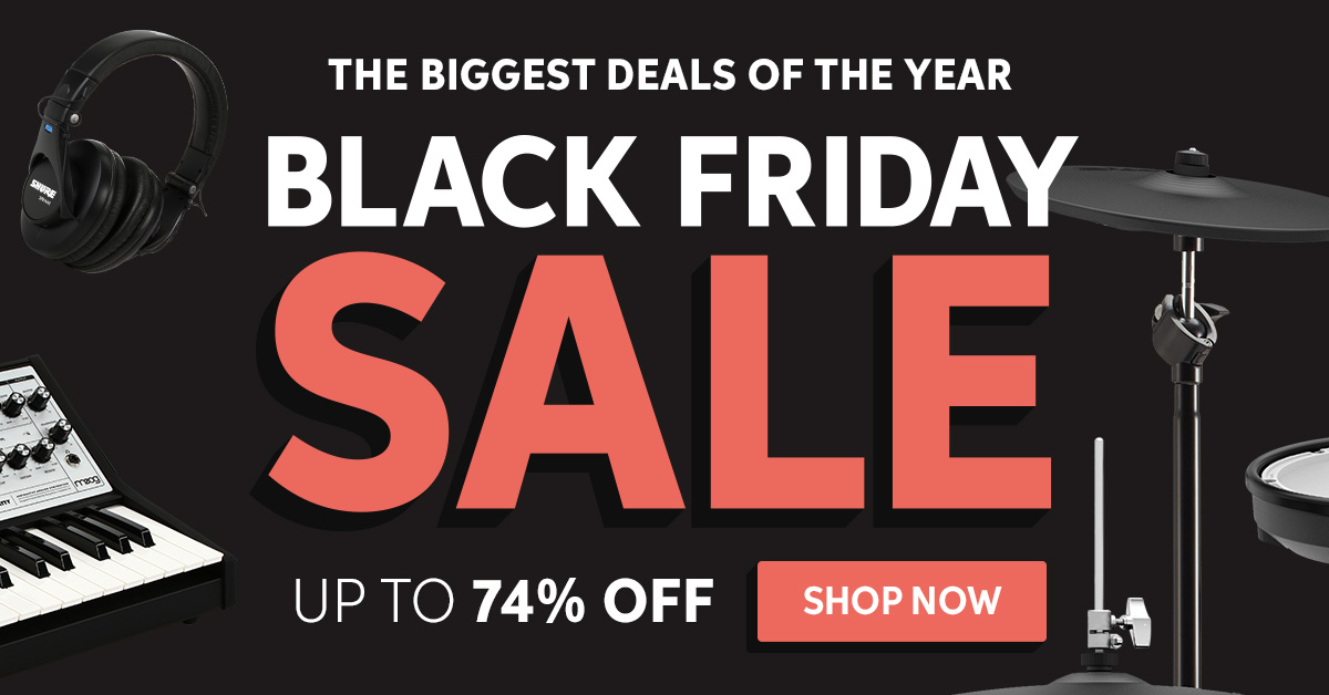 Sweetwater S 2019 Black Friday Sale Is Here