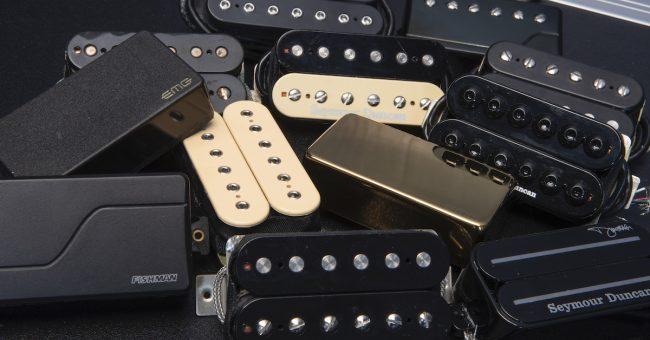 US Spec Black Metal Flat Bottom Humbucker Ring Set