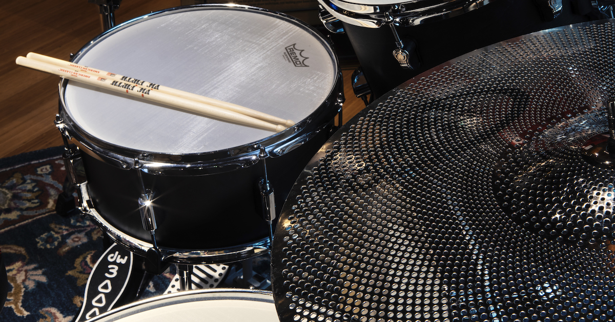 How to Make Your Drum Kit Quieter Featured Image