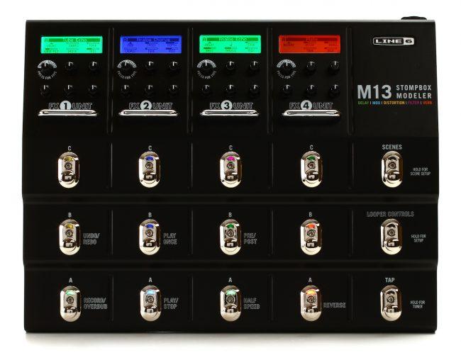 Line-6-M13-Stompbox-Modeler-Pedal