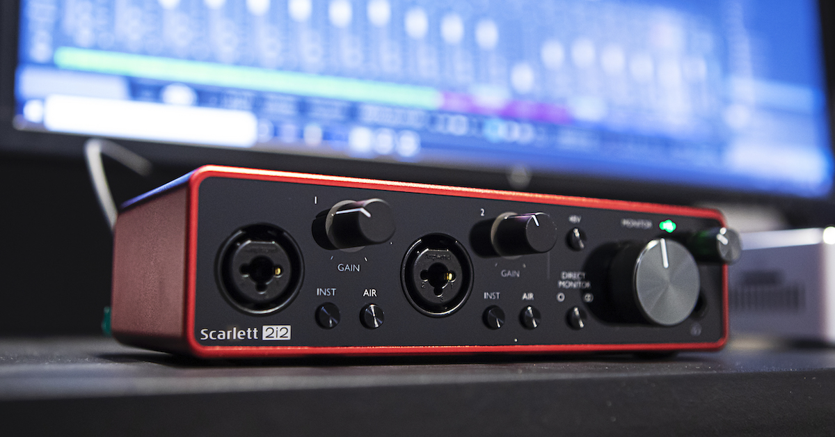 Scarlett 2i2 Audio Interface