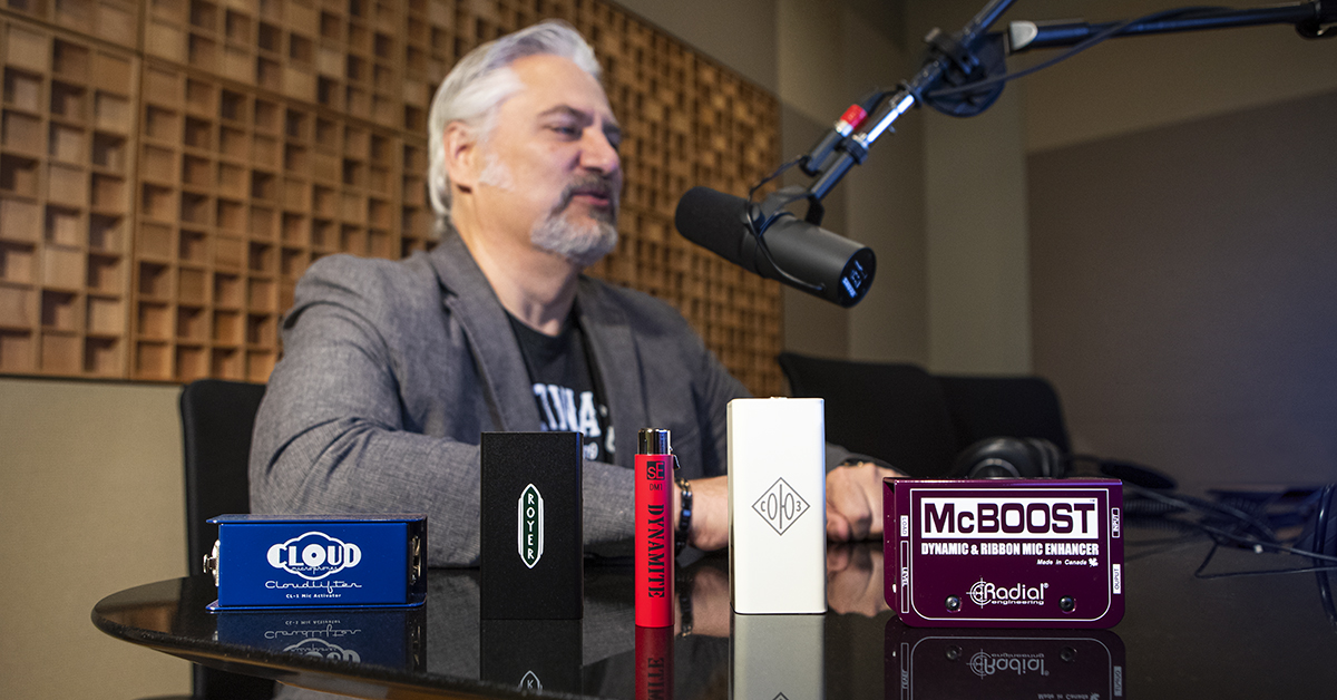 Cloudlifter and SM7B - The Perfect Match? A Mic Booster Shootout | Sweetwater