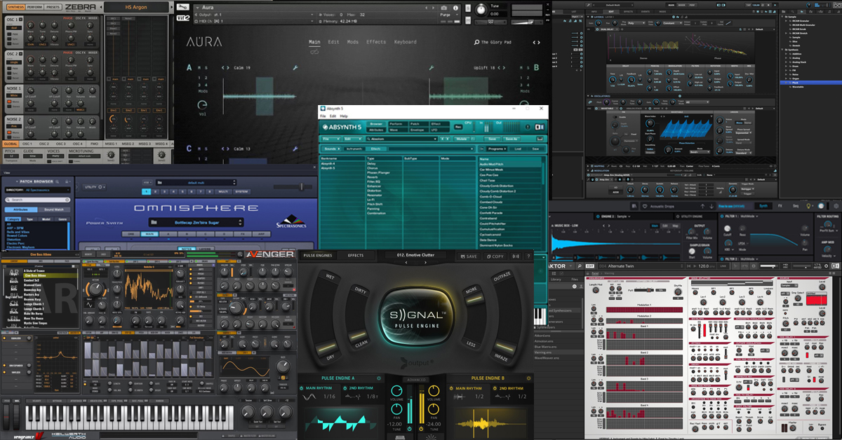 Best Synth Plug-ins for Sound Designers