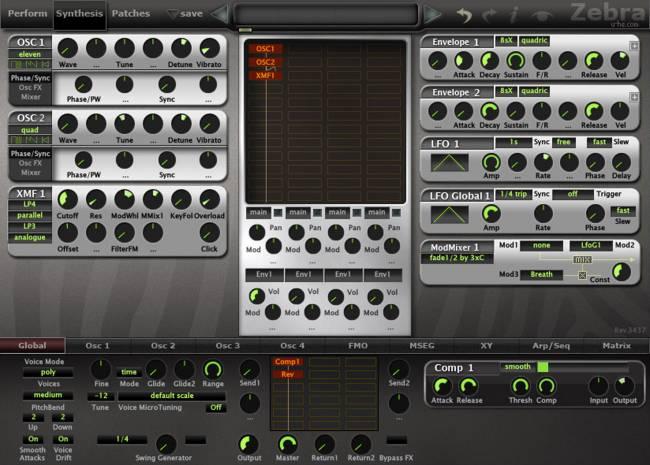 u-he-Zebra2-Modular-Synthesizer-Plug-in