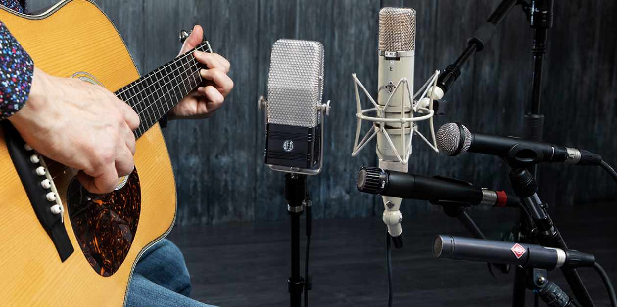 Choosing The Best Microphone For Acoustic Guitar 32 Mic Shootout