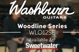 Washburn Woodline Series WLO12SE Orchestra Acoustic-electric Guitar...