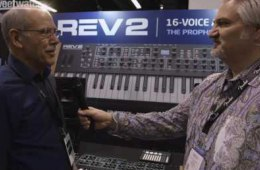 Dave Smith Instruments REV2 & Pioneer DJ Toraiz AS-1 Synthesizers...
