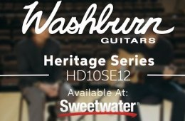 Washburn Heritage Series HD10SE12 Acoustic-electric Guitar Demo by...