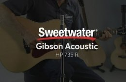 Gibson Acoustic HP 735 R Acoustic-electric Guitar Demo