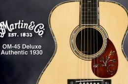 Martin OM-45 Deluxe Authentic 1930 Acoustic Guitar Review by Sweetwater