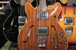 Summer NAMM 2015: Guild Starfire II Bass Guitar Overview by Sweetwater