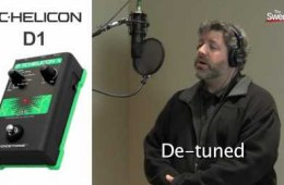 Sweetwater Minute – Vol. 78, TC-Helicon VoiceTone D1 Demo with...