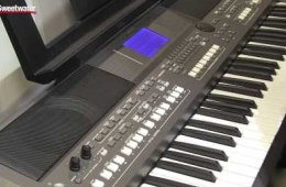 Summer NAMM 2015: Yamaha PSR-S670 Arranger Keyboard Overview by Sweetwater