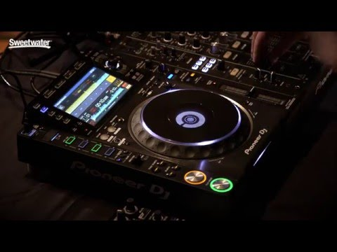pioneer dj cdj 2000nxs2 professional multi player demo by sweetwater sweetwater. Black Bedroom Furniture Sets. Home Design Ideas