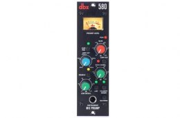 dbx 580 Mic Preamp 500 Series Module Overview by Sweetwater Sound