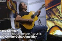 Fender Acoustic Guitar Combo Amplifiers at Winter NAMM 2017