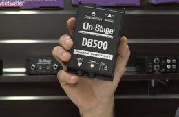 Winter NAMM 2016: On-Stage Stands Stage DI Boxes