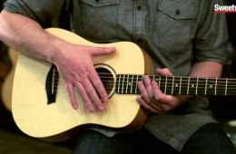 Taylor Guitars Baby Taylor Acoustic-electric Guitar Overview by...