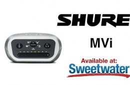 Shure MVi USB Interface Overview by Sweetwater