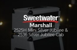 Marshall 2525H Mini Silver Jubilee Amp Head and 2536 Silver Jubilee Cab Demo