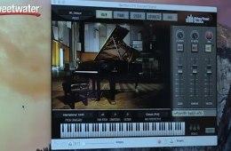 Garritan Abbey Road CFX Concert Grand – Sweetwater at Winter NAMM 2015