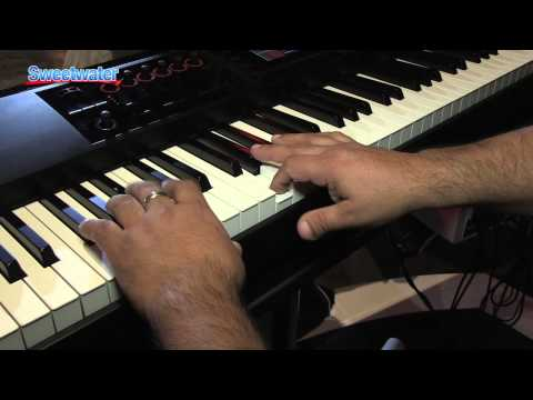 roland fa 06 and fa 08 keyboard workstation demo sweetwater at winter. Black Bedroom Furniture Sets. Home Design Ideas
