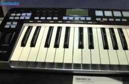 Samson Graphite 25 Controller Keyboard – Sweetwater at Winter...