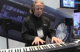 Roland RD-64 Digital Stage Piano – Sweetwater at Winter NAMM 2013