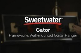 Gator Frameworks Wall-mounted Guitar Hanger Overview