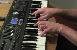 Roland VR-09 Sweetwater Exclusive Sound Library Demo by Daniel Fisher