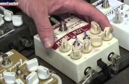 Summer NAMM 2015: Wampler Low Blow Bass Overdrive Pedal Demo by Sweetwater