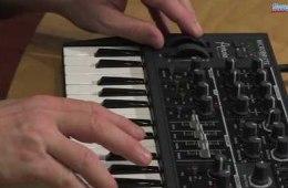 Arturia MicroBrute Analog Synthesizer Demo by Daniel Fisher