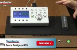 Grace Design m905 Analog 2.1 Monitoring System Review by Sweetwater Sound