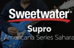 Supro Americana Series Sahara Guitar Demo