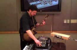 "Electro-Harmonix ""HOG"" Demo with Guitar, Theremin, and..."