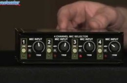 Radial Gold Digger 4-ch Mic Selector Overview
