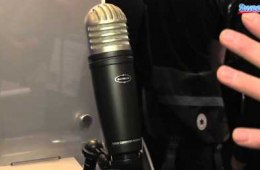 Samson MTR101 Condenser Microphone Overview – Sweetwater at...