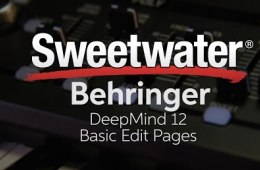 Behringer DeepMind 12 Basic Edit Pages