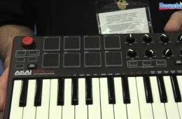 Akai MPK Mini mk2 USB Keyboard Controller Overview – Sweetwater...