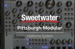 Pittsburgh Modular Lifeforms System 201 Modular Synthesizer Demo by...