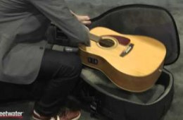 Winter NAMM 2016: MONO Dual-guitar Gig Bag for Electric and Acoustic