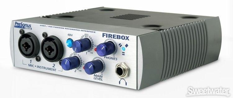 Presonus firebox driver windows 10.