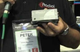 Radial StageBug SB-5 Laptop DI Box – Sweetwater at Winter NAMM 2013
