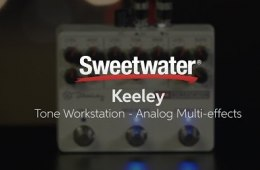 Keeley Tone Workstation Analog Multi-effects Pedal Demo