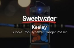 Keeley Bubble Tron Dynamic Flanger/Phaser Pedal Demo
