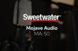 Mojave Audio MA-50 Microphone Demo by Sweetwater Sound